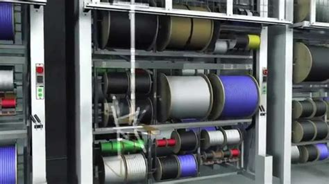 Rotating Wire Harnes by Vertical Wire Spool Carousels Storing Wire Reels Cable