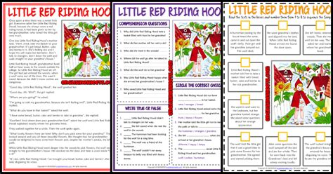 esl printable reading comprehension worksheets  exercises