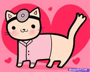 doctor cat how to draw doctor cat doctor cat step by step