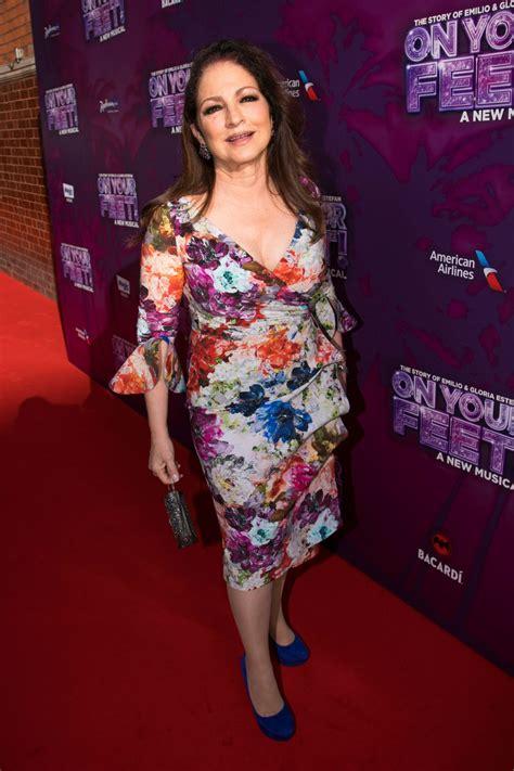 GLORIA ESTEFAN at On Your Feet! Press Night in London 06 ...