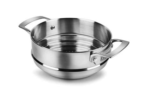 viking stainless steel steamer insert cutlery