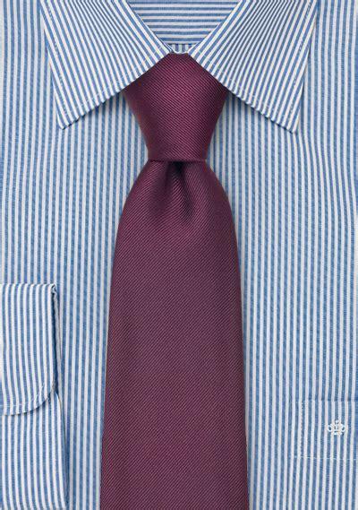 wine colored bow tie solid silk tie in wine color