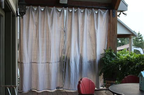Outdoors Curtains :  Canvas Outdoor Curtains