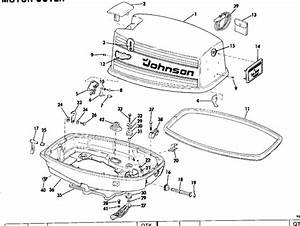 Motor Cover Parts For 1979 35hp 35el79a Outboard Motor