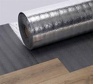 sous couche d39isolation phonique pour parquet silverfoam With sous couche thermique pour parquet