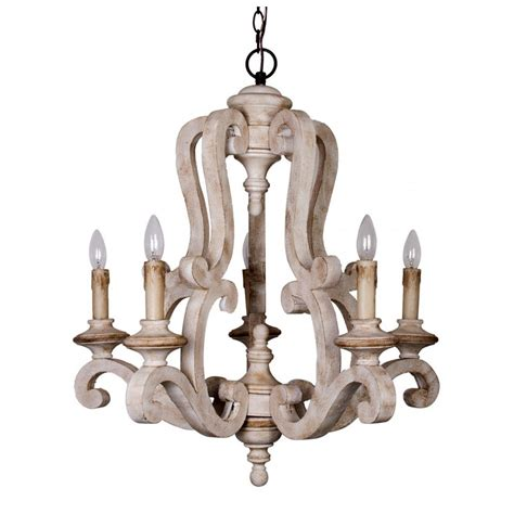 wood lights candles whosel antique 5 lights wooden candle chandelier