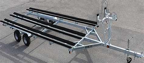 Convert A Boat Trailer To Pontoon Trailer by Genesis Pontoon Trailers For Sale