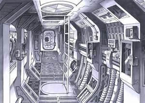 Sealed Man: Spaceships & Spaceship Interior Design