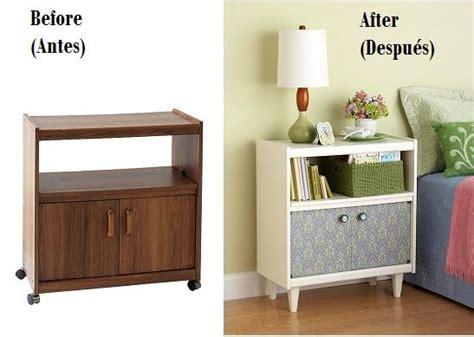 ejemplos del antes  despues de restaurar los muebles
