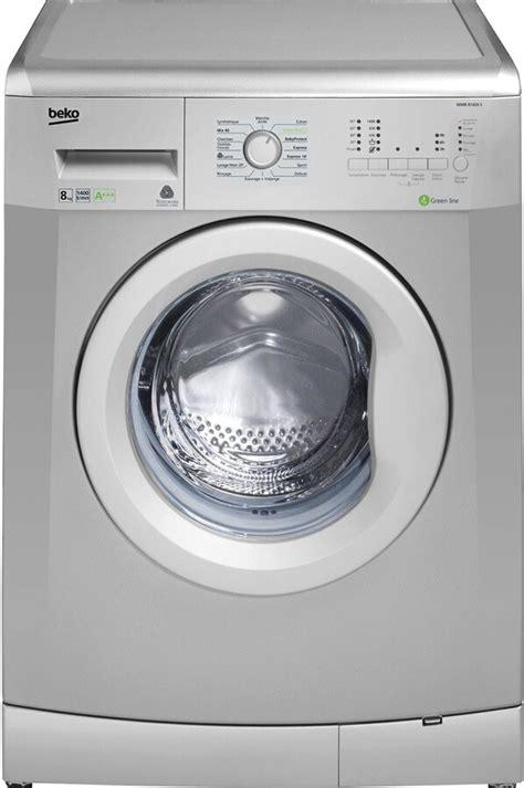 machine à laver beko lave linge hublot beko wmb51221s silver 4046048 darty
