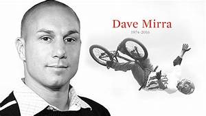 Dave Mirra To Be Inducted Into Usa Bmx Hall Of Fame