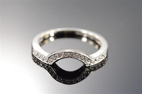 ctw diamond wrap  wedding band ring size