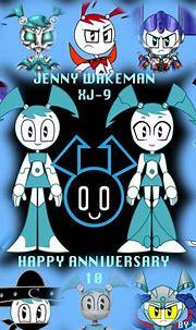 HAPPY ANNIVERSARY JENNY by mayozilla   Teenage robot ...