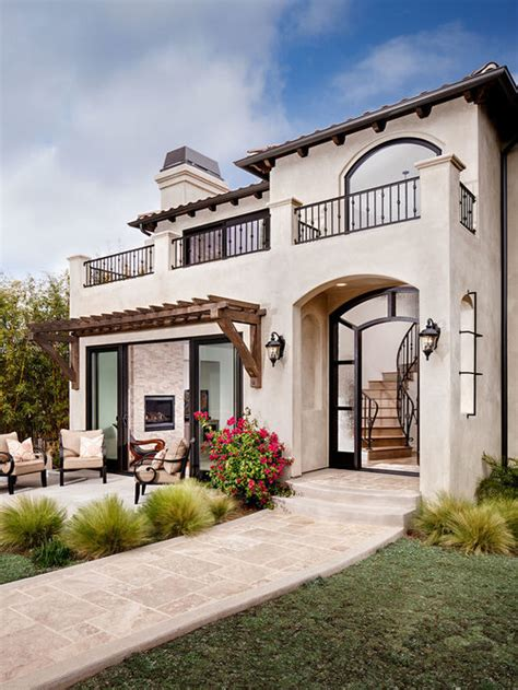 mediterranean exterior design ideas remodels photos