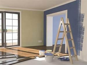 peinture d39interieur les conseils peinture pour l39interieur With peinture acrylique pour mur interieur