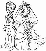 Groom Bride Coloring Pages Stamps Draw Digi Cartoon Couple Hang Couples Modern Drawing Printable Drawings Line Female Outline Bladzijden Boek sketch template