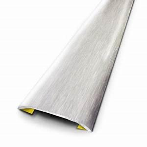 Barre De Seuil Autocollante : barre de seuil plate adh sive inox bross 166 x 3 7 cm ~ Premium-room.com Idées de Décoration