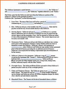5 commercial sublease agreement template word purchase With commercial sublease agreement template download