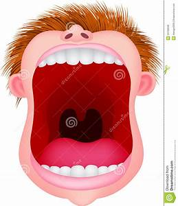 Open Mouth Person Clipart