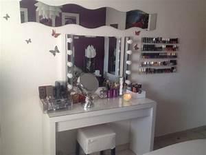 Miroir Maquillage Ikea : mon rangement maquillage update youtube ~ Teatrodelosmanantiales.com Idées de Décoration