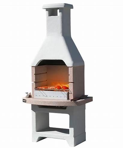 Oasi Barbecue Sunday Cemento Focolare Salvato Piano