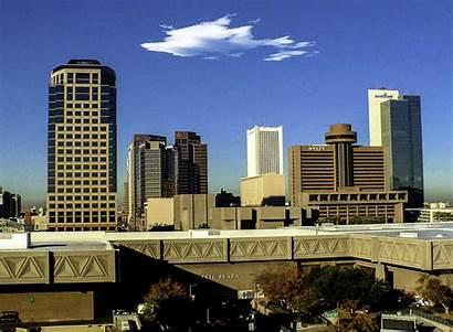 Phoenix Skyline Arizona Cloud Clouds States United