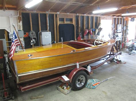 Boat Trailer Inspections Near Me by Chris Craft Deluxe Runabout 1957 For Sale For 75 000