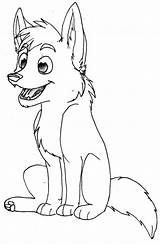 Wolf Coloring Pages Printable sketch template