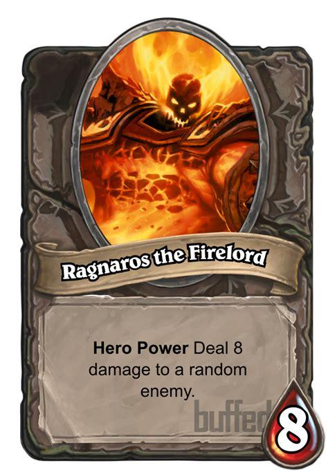 hearthstone ragnaros deck heroic ragnaros the firelord card hearthstone database