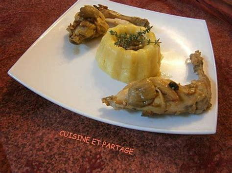 cuisiner le lapin au vin blanc les meilleures recettes de polenta et chignons