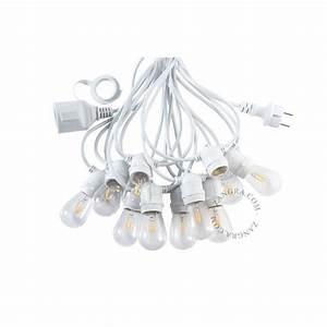 Guirlande Lumineuse Blanche : guirlande lumineuse blanche ampoules claires ~ Melissatoandfro.com Idées de Décoration