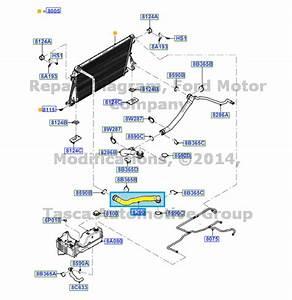 New Oem Upper Radiator Hose 6 7l V8 T  C Diesel 2012