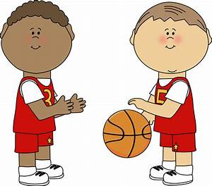 Boys Playing Basketball Clip Art - Boys Playing Basketball ...