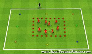 Football  Soccer  The Dribbling Game  Technical  Passing  U0026 Receiving   Beginner