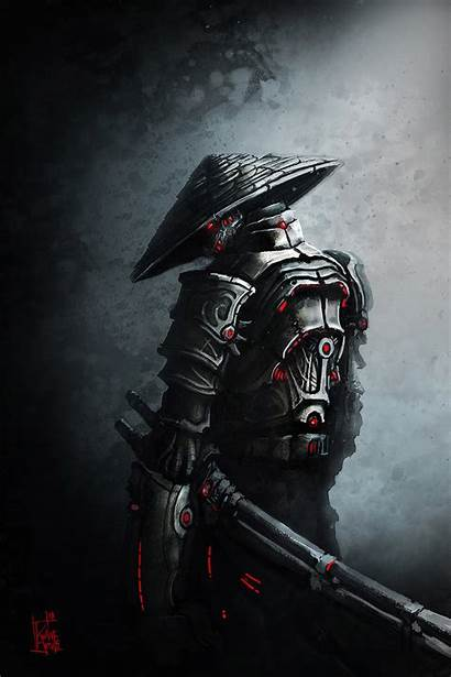 Samurai Sci Fi Warrior Tattoo Ninja Artwork