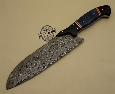 kitchen knives for damascus kitchen knife custom handmade damascus steel kitchen