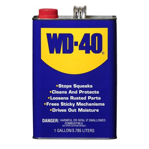 WD-40 128 oz. 1-Gal. Penetrating Lubricant-10010 - The ...