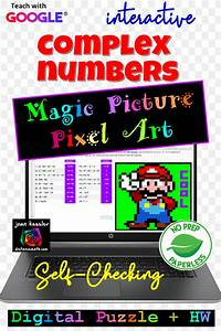 Complex Numbers Magic Picture Pixel Art With Google Sheets