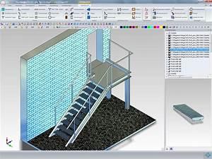 Treppen Zeichnen Programm Freeware : megacad metall 3d megacad ~ Watch28wear.com Haus und Dekorationen
