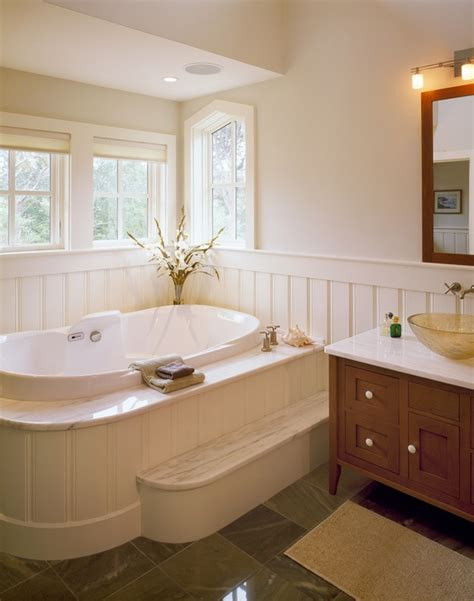 bathroom wainscoting the finishing touch to your