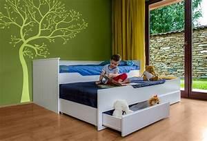 Bett Mit 2 Schlafgelegenheit : relita funktionsbett ronny 2 liegefl chen und 2 real ~ Bigdaddyawards.com Haus und Dekorationen