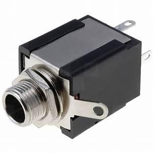 6 35mm  U00bc U201d Stereo Jack Socket Solder Connector