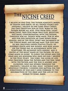 Nicene Creed Poster - Catholic to the Max - Online