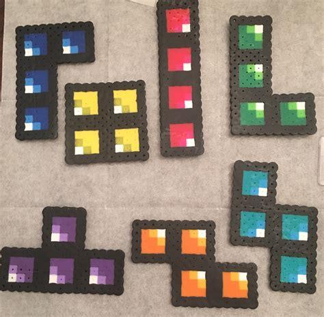 tetris perler bead pattern  parentsteachers scout