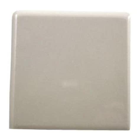 Ceramic Tile Outside Corner Trim by Daltile Semi Gloss Almond 4 1 4 In X 4 1 4 In Ceramic