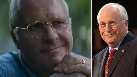 Christian Bale Looks Exactly Like Dick Cheney The First