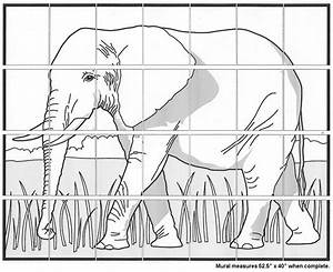 Elephant Mural Diagram