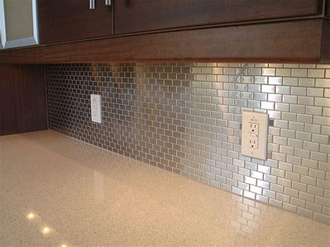 Aluminum Backsplash Tiles : Shining Your Kitchen Using Beautiful Backsplash Designs