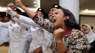 arti nasionalisme bagi bangsa indonesia tribunnewscom