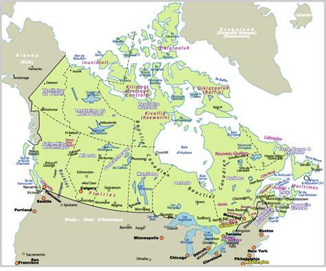 Carte Du Canada Avec Villes by Tremblement De Terre Au Canada Le Journal Participatif